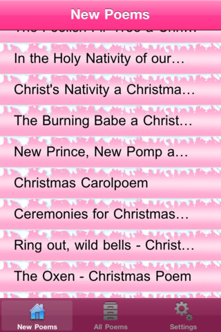 Christmas Poems!