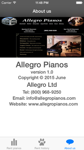 Allegro Pianos Free kids pianos