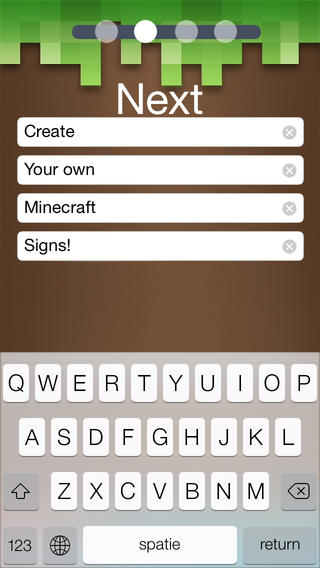 Sign Creator for Minecraft twitter sign in