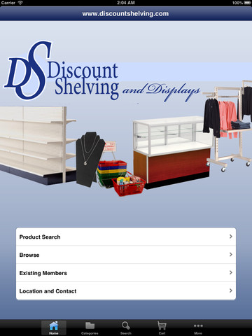 Discount Shelving and Displays home storage shelving systems