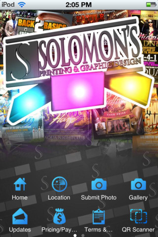Solomons Printing printing services