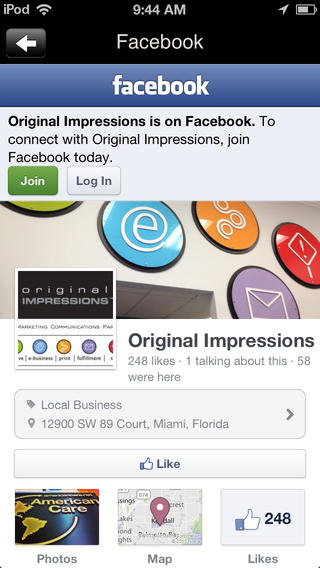 Original Impressions printing impressions