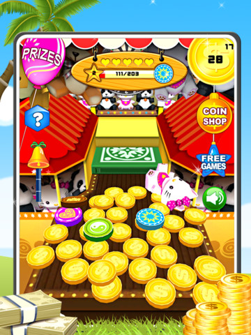 Kingdom Coins HD for iPad - Dozer of Coins Arcade Style monaco rare coins