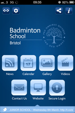 Badminton School Parent App