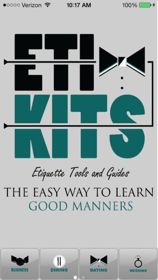 Eti-Kits etiquette for kids