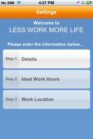 LWML App work life balance ideas
