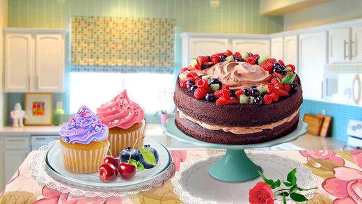 Cake Shop Mania - Cake Decorate! Make Cupcake, birthday cake coffee cake