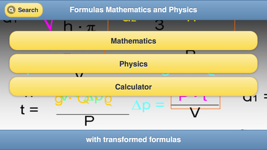 Transformed Formulas Mathematics and Physics basic physics formulas
