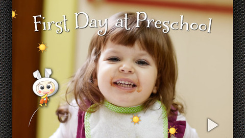 First Day at Preschool - Interactive Storybook for Children (Pepa Series) Help kids make transition from being at home to going to preschool preschool children development