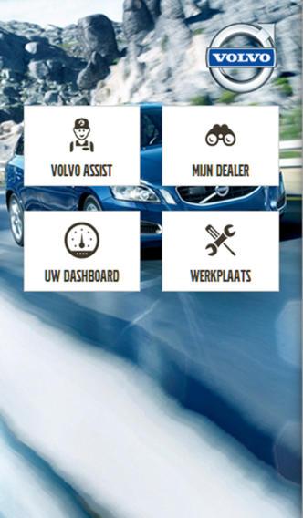 Volvo Service App volvo s90