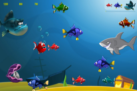 Angry Hungry Fish 3D - Super Cool Addictive Fishing game for kids fish aquaria