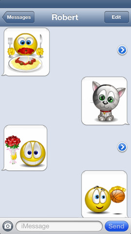 Animated 3D Emoji Emoticons + SMS Smiley Faces Pics HD