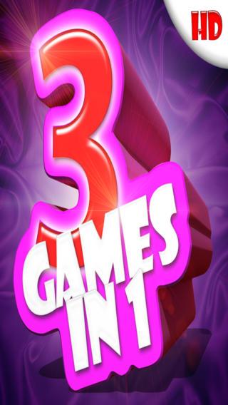 All-in-1 Fun 101 HD ( 3 multiplayer mini games ) fun ipad mini games
