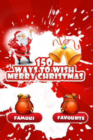 150 Ways to Wish Merry Christmas