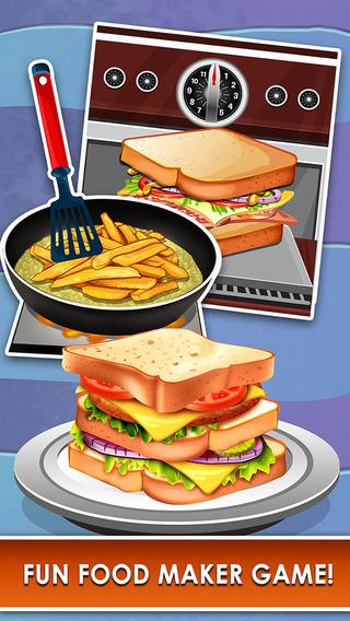Lunch Food Maker Salon - fun food making & cooking games for kids! nicaraguan food