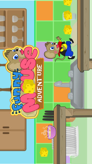 Funny Mouse Adventure Free Running Game