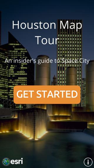 Houston Map Tour andalucia houston tx