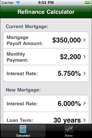 Refinance Calculator getregionalcash refinance