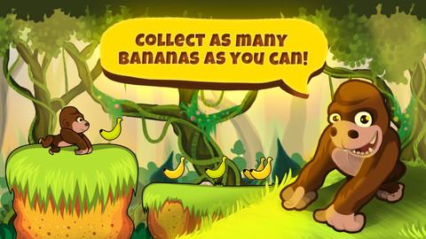 Download run monkey run fun jungle game iphone ipad ios