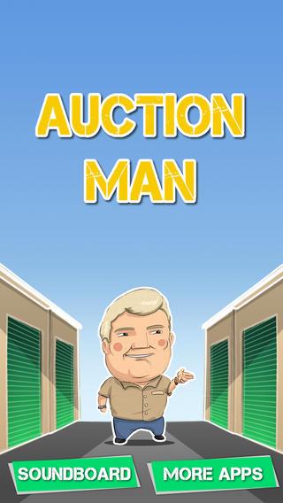 Auction Man : Auctioneer Soundboard bowling equipment auction