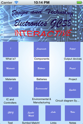 Design and Technology GCSE: Electronics computer and electronics technology