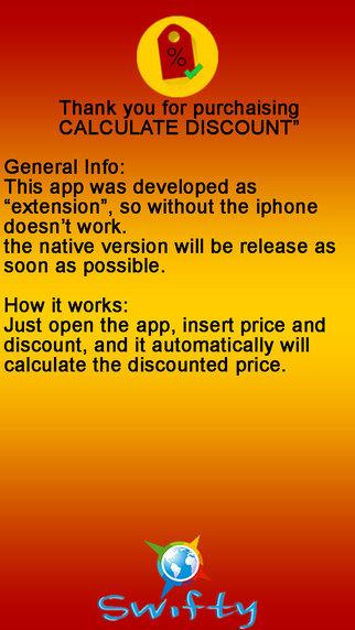 Calculate Discount discount