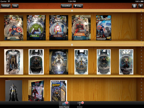 Action Figures Toys Collector for iPad action figures collectibles