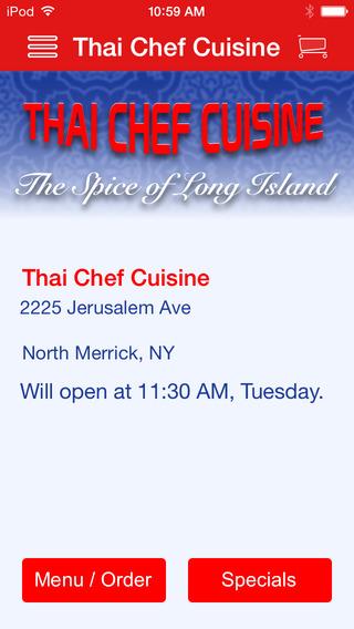 Thai Chef Cuisine thai cuisine