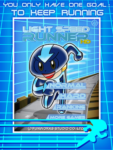 Light Speed Runner HD