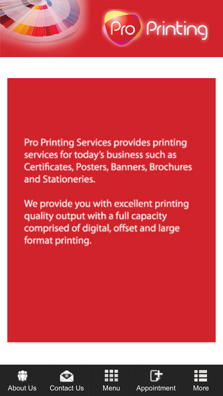 Pro Printing Services printing services