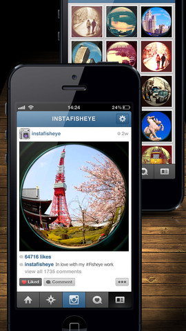 InstaFisheye - LOMO Fisheye Lens for Instagram