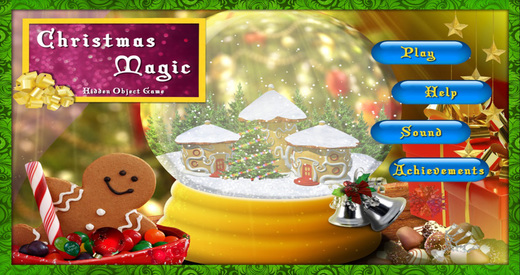 Christmas Magic - Free Search & find concealed and hidden objects in the magic of X`mas