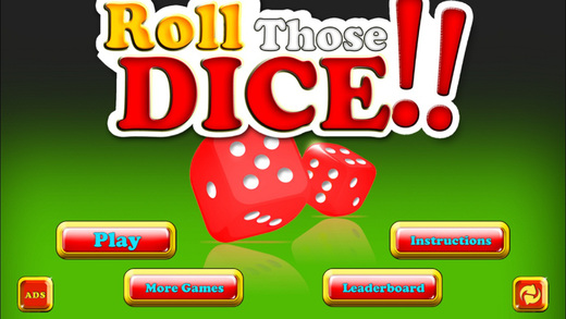 Dice Ten Thousand - Roll Those Lucky Dice Classic Dice Game Fun! dice masters