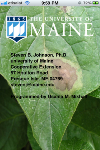 Potato Late Blight Mgr
