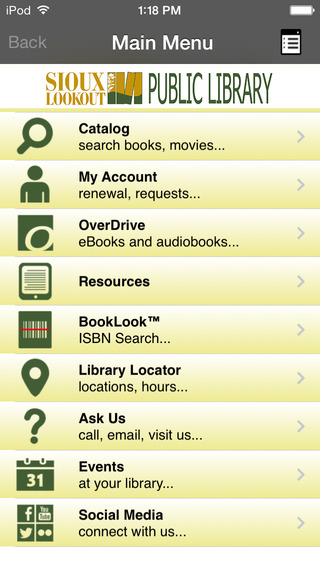 Sioux Lookout Public Library free public online library