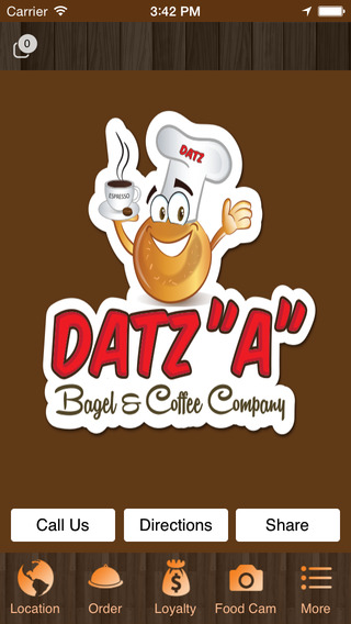 Datz A Bagel & Coffee coffee meets bagel