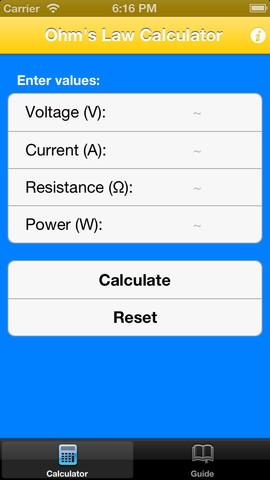 Ohm`s Law Calculator & Guide