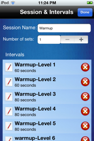 free spin workouts for ipod