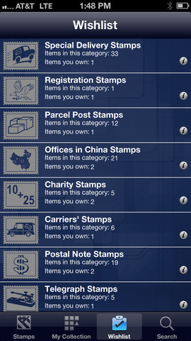 Stamps USA personal stamps
