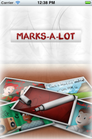 Marks-A-Lot editing marks