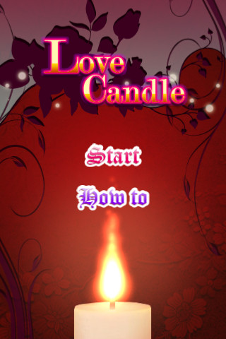 Love Candle candle