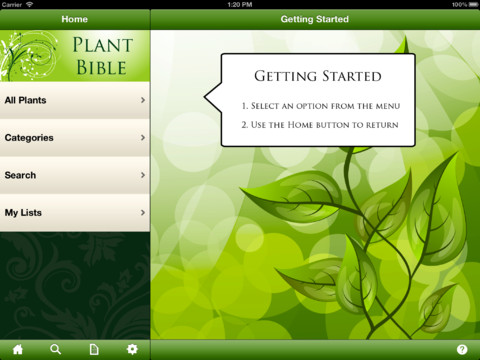 Plant Bible plant lover gifts