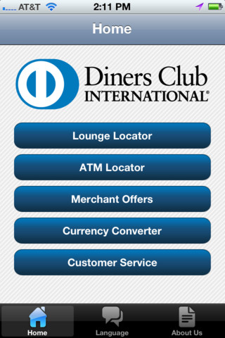 diners club mobile app
