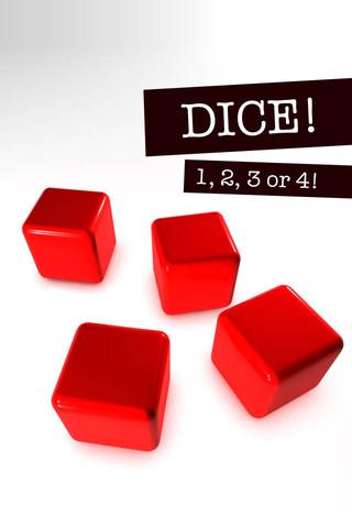 Dice in 3D dice masters