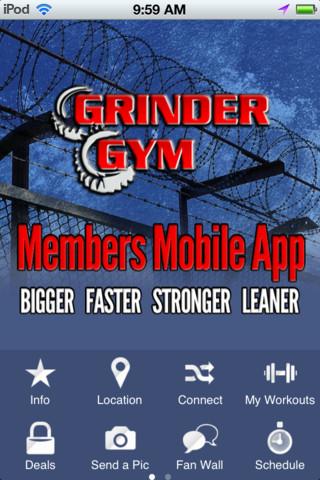 Grinder Gym coffee grinder