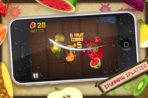 fruit ninja lite. Fruit Ninja 1.3.2