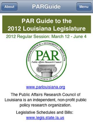 PAR Guide 2012