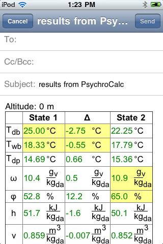 PsychroCalc full screenshot