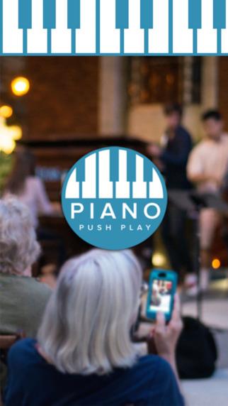 Piano Push Play kids pianos