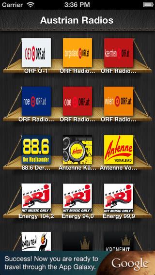 Austrian Radio : Die App, die den Zugriff auf das gesamte Radio FREI! Austrian austrian air